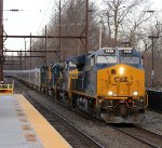 CSX 3426 leading P923-13 Ringling Bros. circus train.